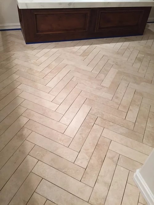 grout polished travertine tiles