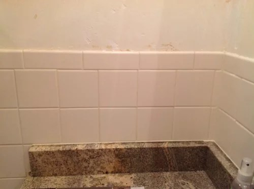 add mosaic tile above bullnose