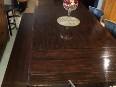 benchwright table from pottery barn