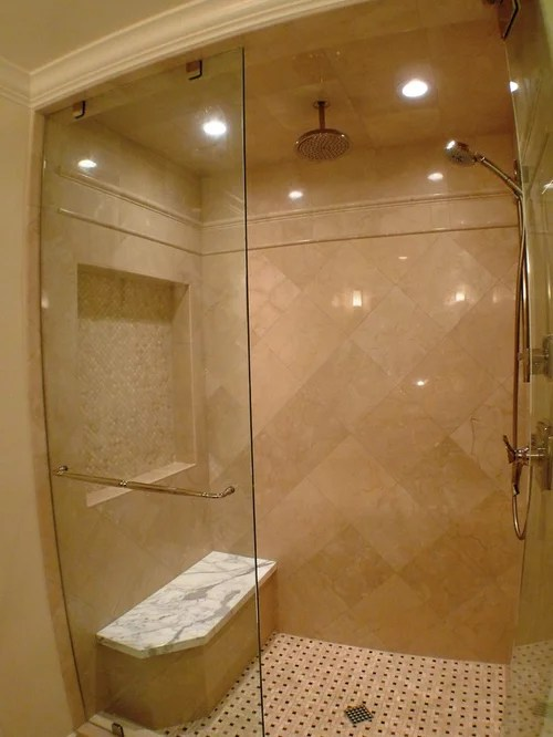 Crema Marfil Tile Home Design Ideas Pictures Remodel And Decor
