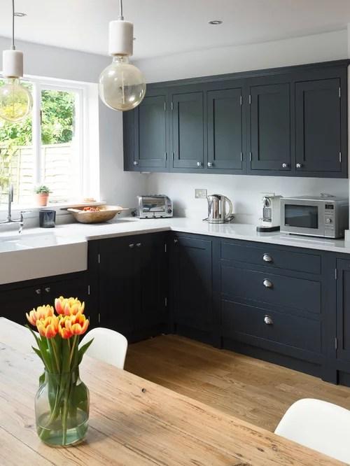 Best Farmhouse Kitchen With Black Cabinets Design Ideas