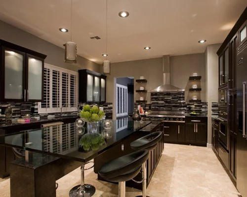 Contemporary Kitchen Open Concept