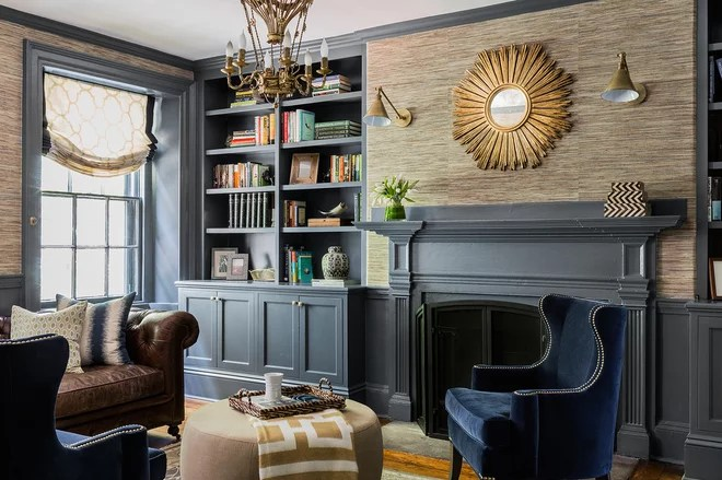 Traditional Living Room by Erin Gates Design
