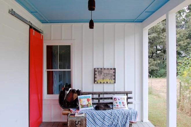 Farmhouse Porch by Corynne Pless