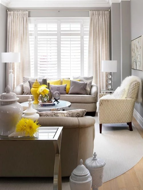 Tan And Gray Living Room Houzz
