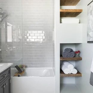 houzz | 50+ best tub/shower combo pictures - tub/shower combo design