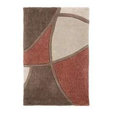 Surya Cosmopolitan COS8887 Red/Brown Contemporary Area Rug Rectangular 8'x11'