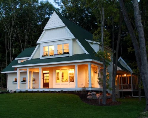 Cottage Exterior Home Design Ideas, Pictures, Remodel And