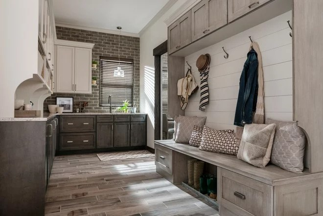 Transitional Entry by Gilcrest Jewett Lumber Company