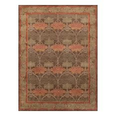 Rugsville Arts and Crafts 12012 Green Rug 9x12
