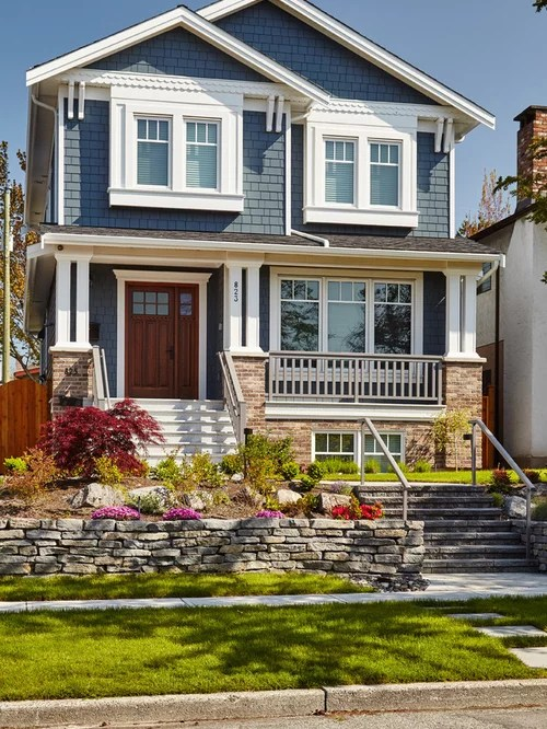 Blue House Colors Home Design Ideas Pictures Remodel And