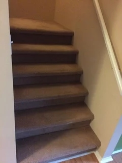 Redo Carpet Or Install Stair Treads For Stairs | Redoing Carpeted Stairs To Wood | Hardwood Floors | Stair Tread | Stair Risers | Stair Case | Staircase Remodel