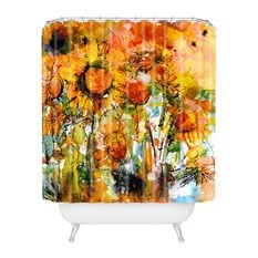 50 most popular art shower curtains for