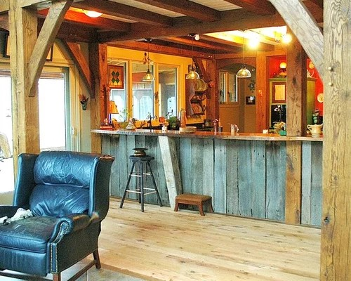 Timber Frame Kitchen Home Design Ideas Pictures Remodel