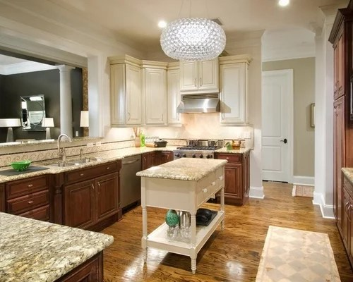 Two Tone Kitchen Home Design Ideas Pictures Remodel And