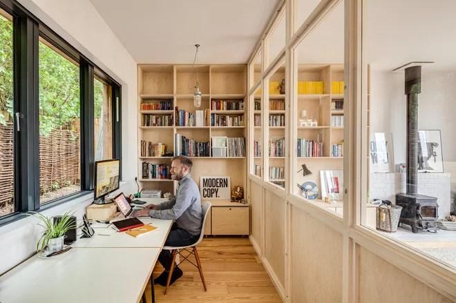 Scandinavian Home Office by Mailen Design