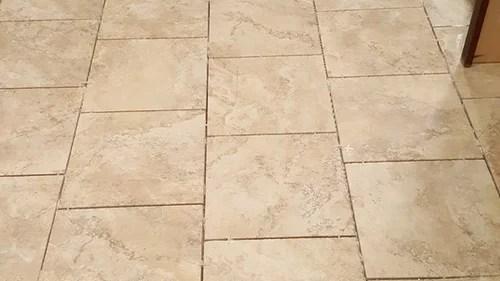 seal a new porcelain tile floor