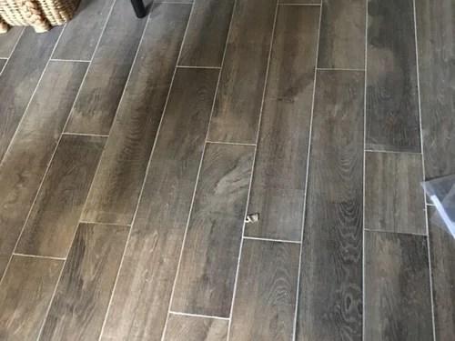hate my wood look tile