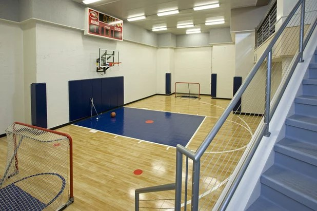 Contemporary Home Gym by John Kraemer & Sons
