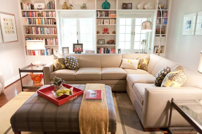 Contemporary Family Room by Chroma Home