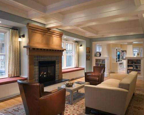Best Craftsman Living Room Design Ideas Amp Remodel Pictures Houzz
