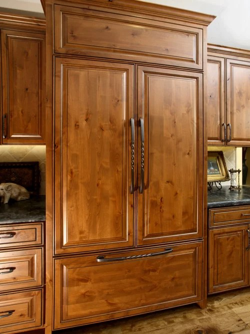 Stained Knotty Alder Houzz