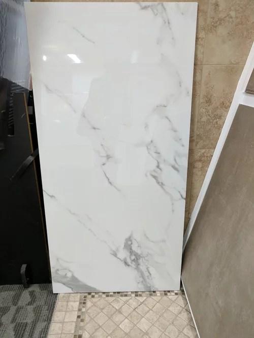 backsplash porcelain marble looking tile