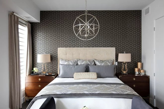 Transitional Bedroom by Decorating Den Interiors - Decorate with Kate