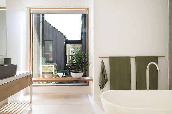Contemporary Bathroom by More Detail Pty Ltd