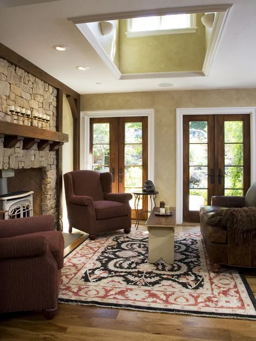 Stained And Painted Trim Home Design Ideas Pictures