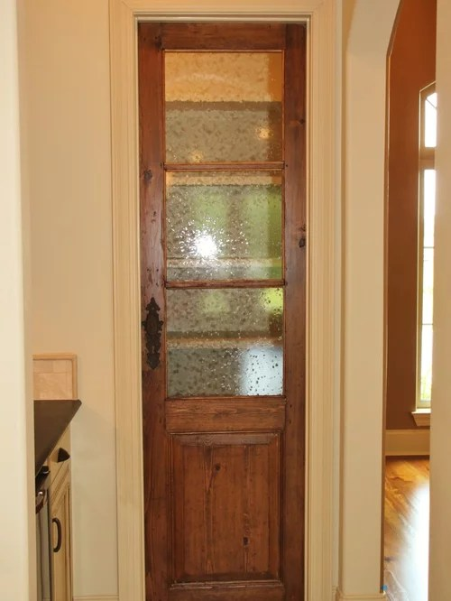 Pantry Door With Seeded Glass Ideas Pictures Remodel And