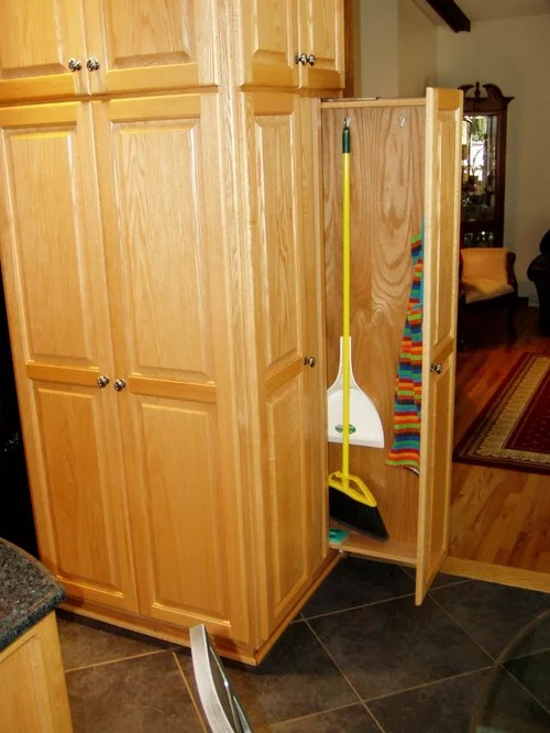 Broom Storage Home Design Ideas Pictures Remodel And Decor