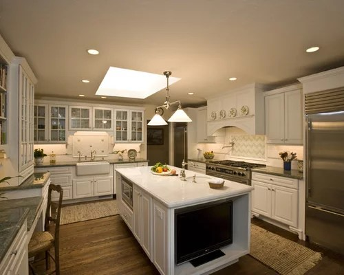 Sink Without Window Home Design Ideas Pictures Remodel