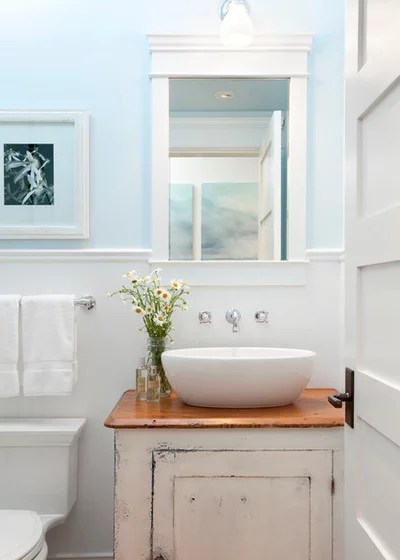 Traditional Powder Room by jodi foster design + planning