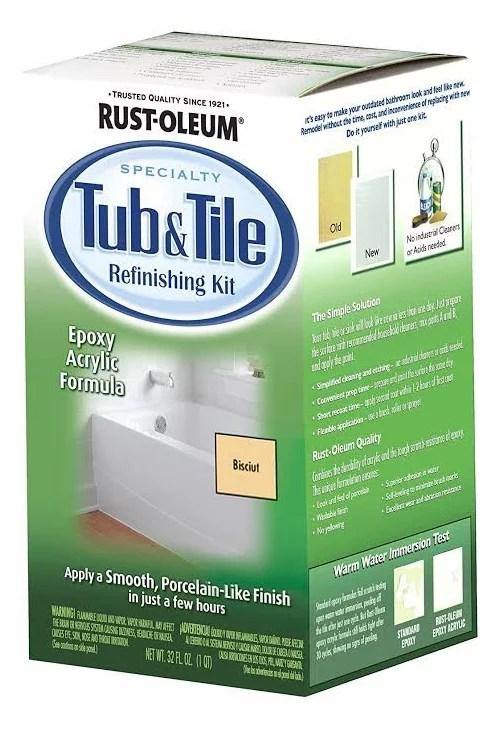 change the colour of rust oleum tile paint