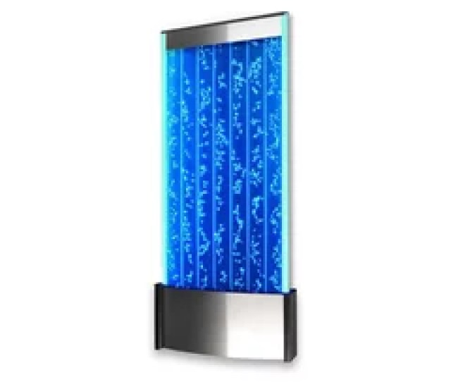 Wall Mount Led Bubble Wall Indoor Fountain Water Feature  Wm