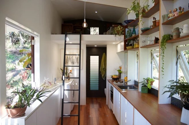 Contemporary Kitchen by Tiny House Company