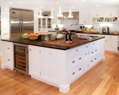 Butcher Walnut Sink Countertop Stainless Steel Block Houzz