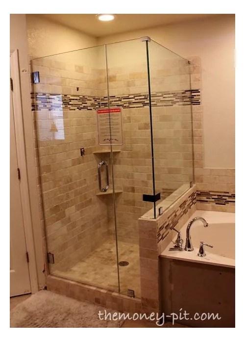 cost of frameless shower door estimate