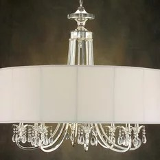 John Richard Lombard Eight Light 40 Wide Chandelier Chandeliers