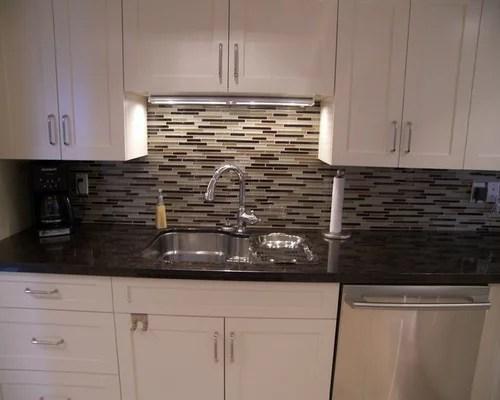 Linear Tile Backsplash Home Design Ideas, Pictures