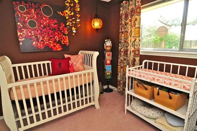 Eclectic Nursery by Valerie McCaskill Dickman