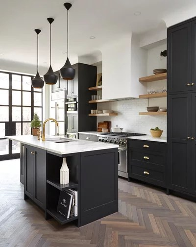 Transitional Kitchen by South Park Design Build