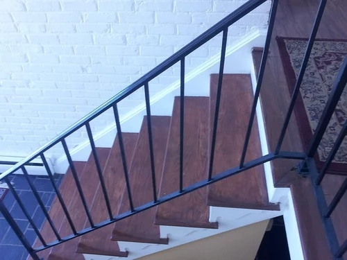 Suggestions To Update Wrought Iron Stair Railing Without Replacing | Detachable Banister And Stair Hand Railing | Stair Case | Half Wall | Modern | Traditional | Mezzanine