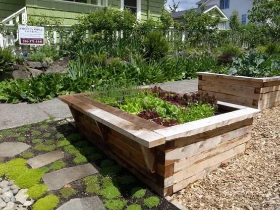 Классический Сад by Erin Lau Landscape Design- Seattle