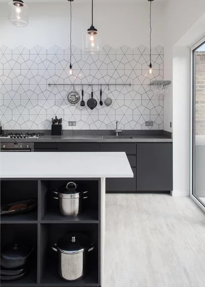 Contemporary Kitchen by Trevor Brown Architect