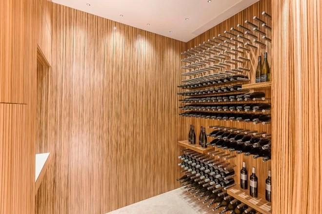 Contemporary Wine Cellar by Mal Corboy Design