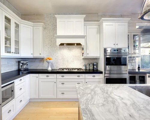 Best Super White Grey Goose Quartzite Design Ideas