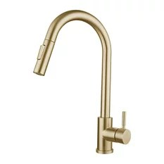 50 most popular gold kitchen faucets