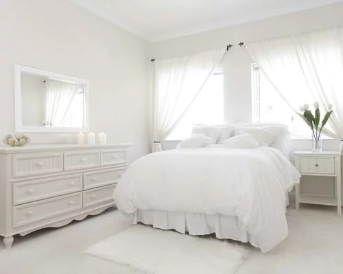 White Bedroom Home Design Ideas, Pictures, Remodel And Decor